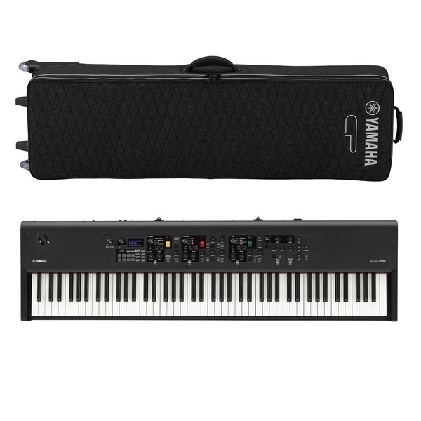 Yamaha CP88 Digital Stage Piano with Softcase - Full Bundle