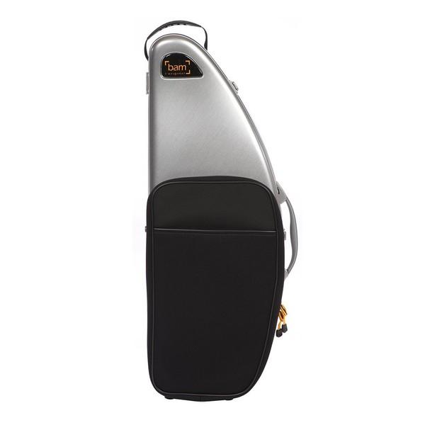 BAM DEF4012S La Defense Tenor Saxophone Case with Pocket, Aluminium