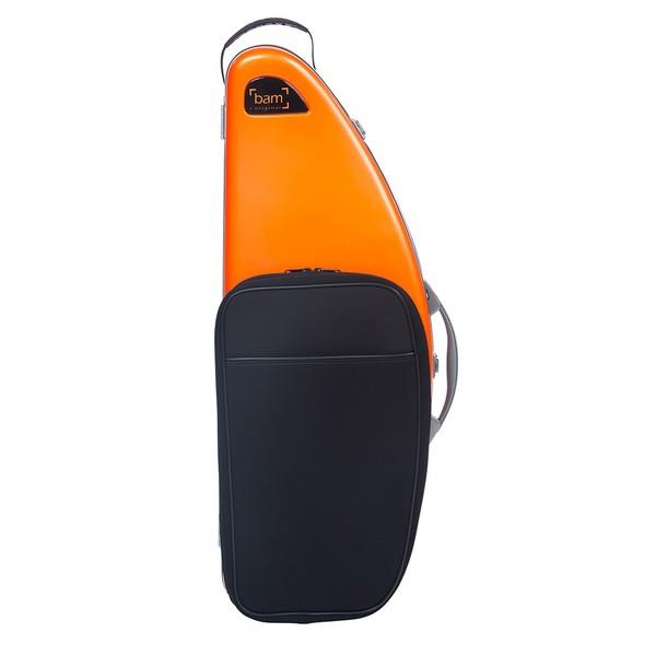 BAM DEF4012S La Defense Tenor Saxophone Case with Pocket, Orange