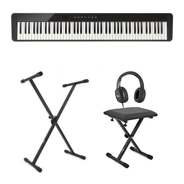 Casio PX S1000 Digital Piano X Frame Package, Black
