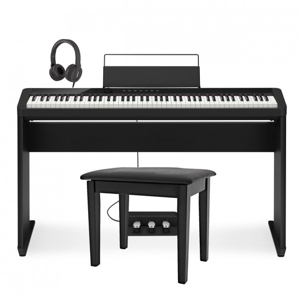 Casio PX S1000 Digital Piano Wood Frame Package, Black