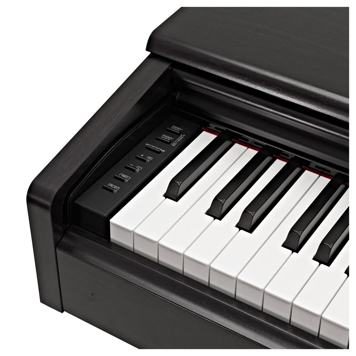 Yamaha YDP 144 Digital Piano, Black