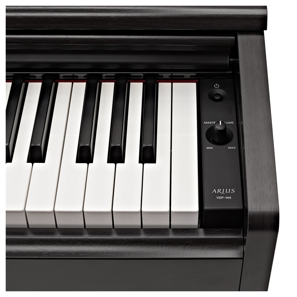 yamaha ydp 144 digital piano black at gear4music. Black Bedroom Furniture Sets. Home Design Ideas