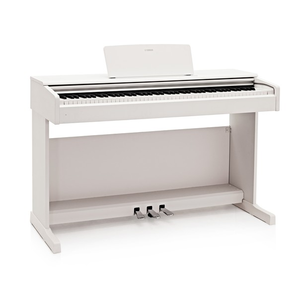 Yamaha YDP 144 Digital Piano, White
