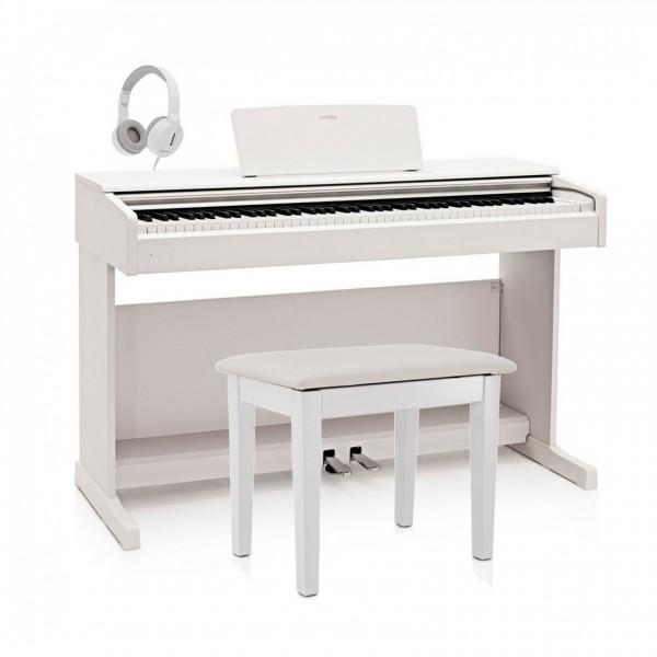 Yamaha YDP 144 Digital Piano Package, White