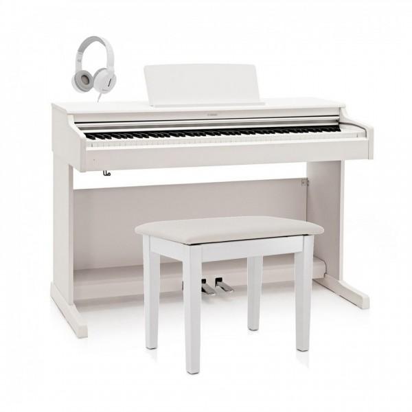 Yamaha YDP 164 Digital Piano Package, White