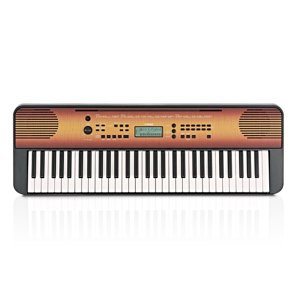 Yamaha PSR E360 Portable Keyboard, Maple