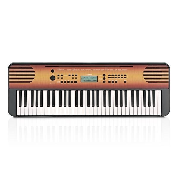 Yamaha PSR E360 Portable Keyboard, Maple
