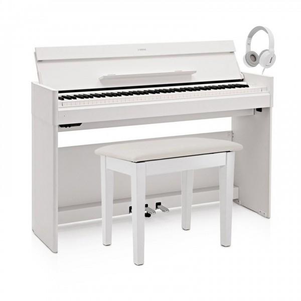 Yamaha YDP S54 Digital Piano Package, White