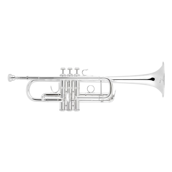 Bach C190SL229 C Trumpet, Silver Plated