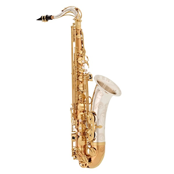 Yanagisawa TWO32 Tenor Saxophone, Silver Neck and Bell, Bronze Body