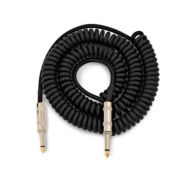 Coiled Jack Instrument Cable, 6m