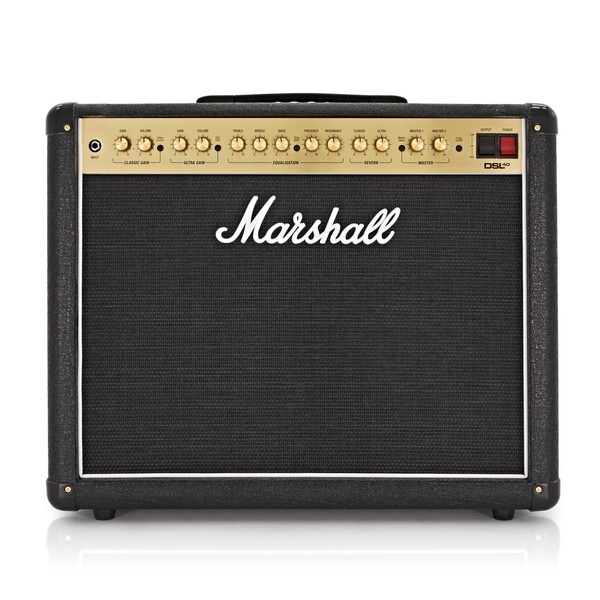 marshall dsl40cr 40w 1x12 valve combo w reverb at gear4music. Black Bedroom Furniture Sets. Home Design Ideas