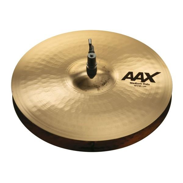 """Sabian AAX 14"""" Medium Hi Hats Br. - Main Image"""