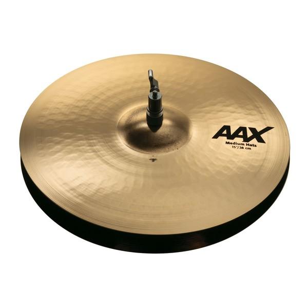 """Sabian AAX 15"""" Medium Hi Hats Br. - Main Image"""
