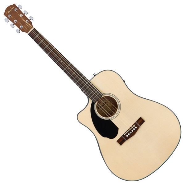Fender CD-60SCE Dreadnought Electro Acoustic LH, Natural