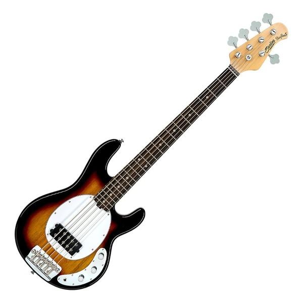 Sterling by Music Man StingRay5 Classic Bass RW, 3-Tone Sunburst