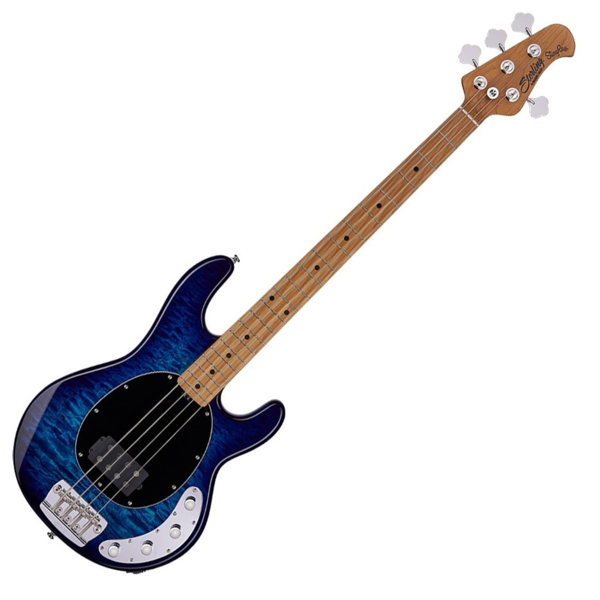 sterling by music man stingray bass neptune blue at gear4music. Black Bedroom Furniture Sets. Home Design Ideas