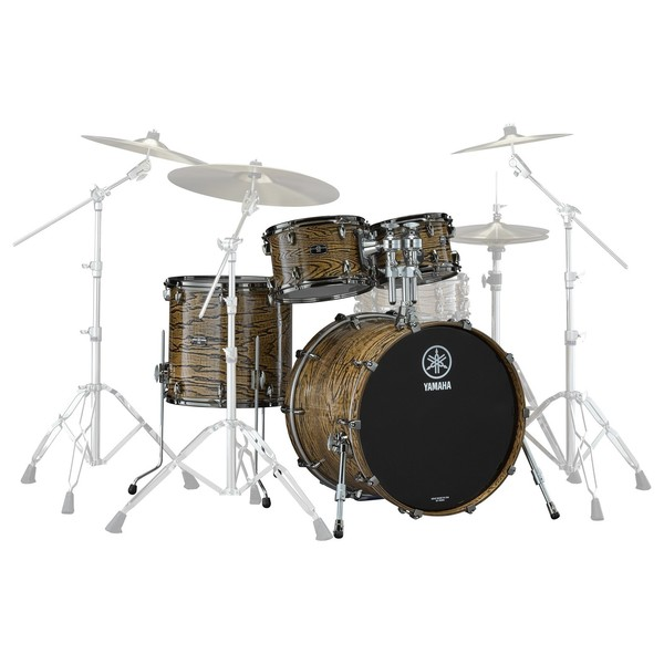Yamaha Live Custom Hybrid Oak 22'' 4pc Shell Pack, Natural - Main Image
