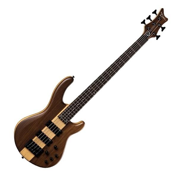 Dean Edge Pro 5-String Bass, Walnut Satin Natural