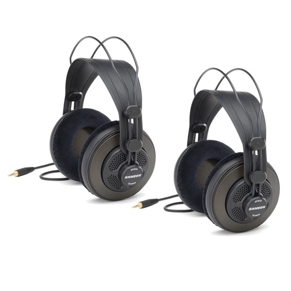 Samson SASR850 Headphones Double Pack - Main