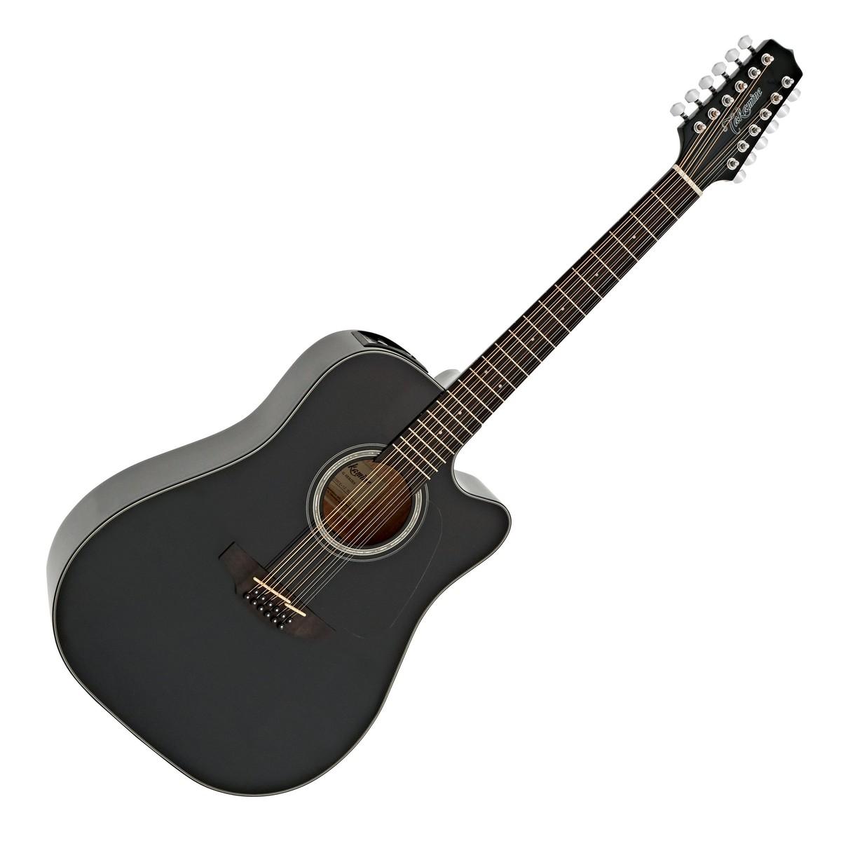 takamine gd30ce 12 string electro acoustic black at gear4music. Black Bedroom Furniture Sets. Home Design Ideas