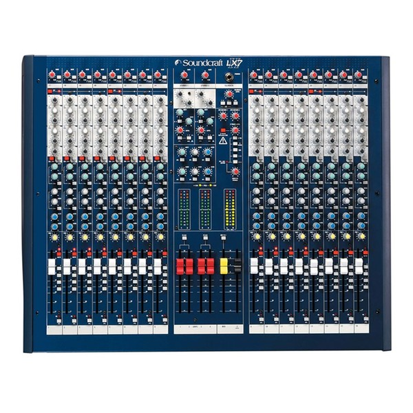 Soundcraft LX7ii Front