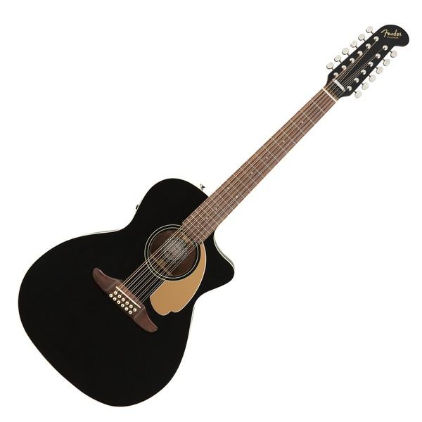 Fender Villager 12-String V3, Jetty Black