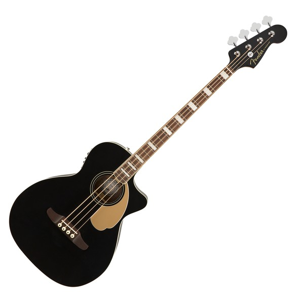 Fender Kingman Acoustic Bass V2 WN, Jetty Black