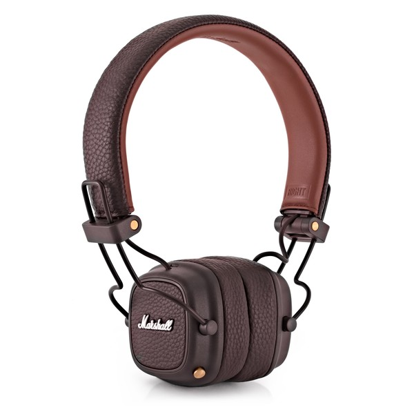 Marshall Major III Bluetooth On-Ear Headphones, Brown