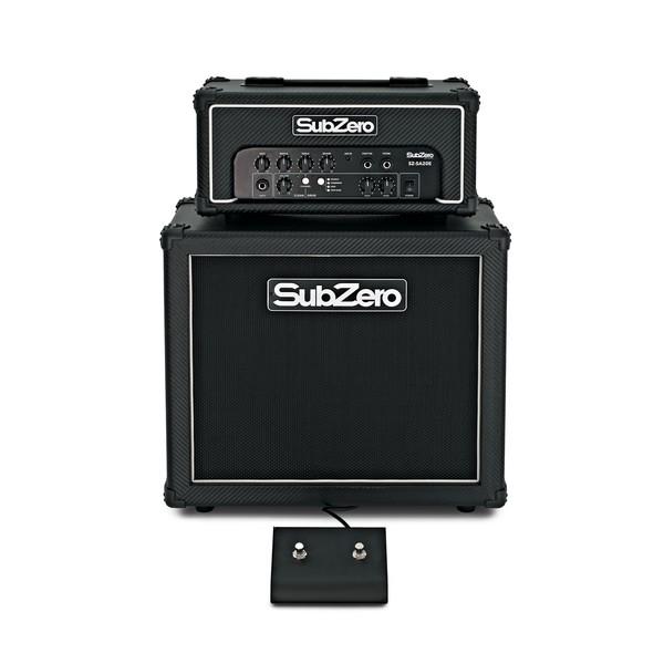 "SubZero SZ-SA20E Amp Head with 1 x 10"" Cabinet Package pedal"