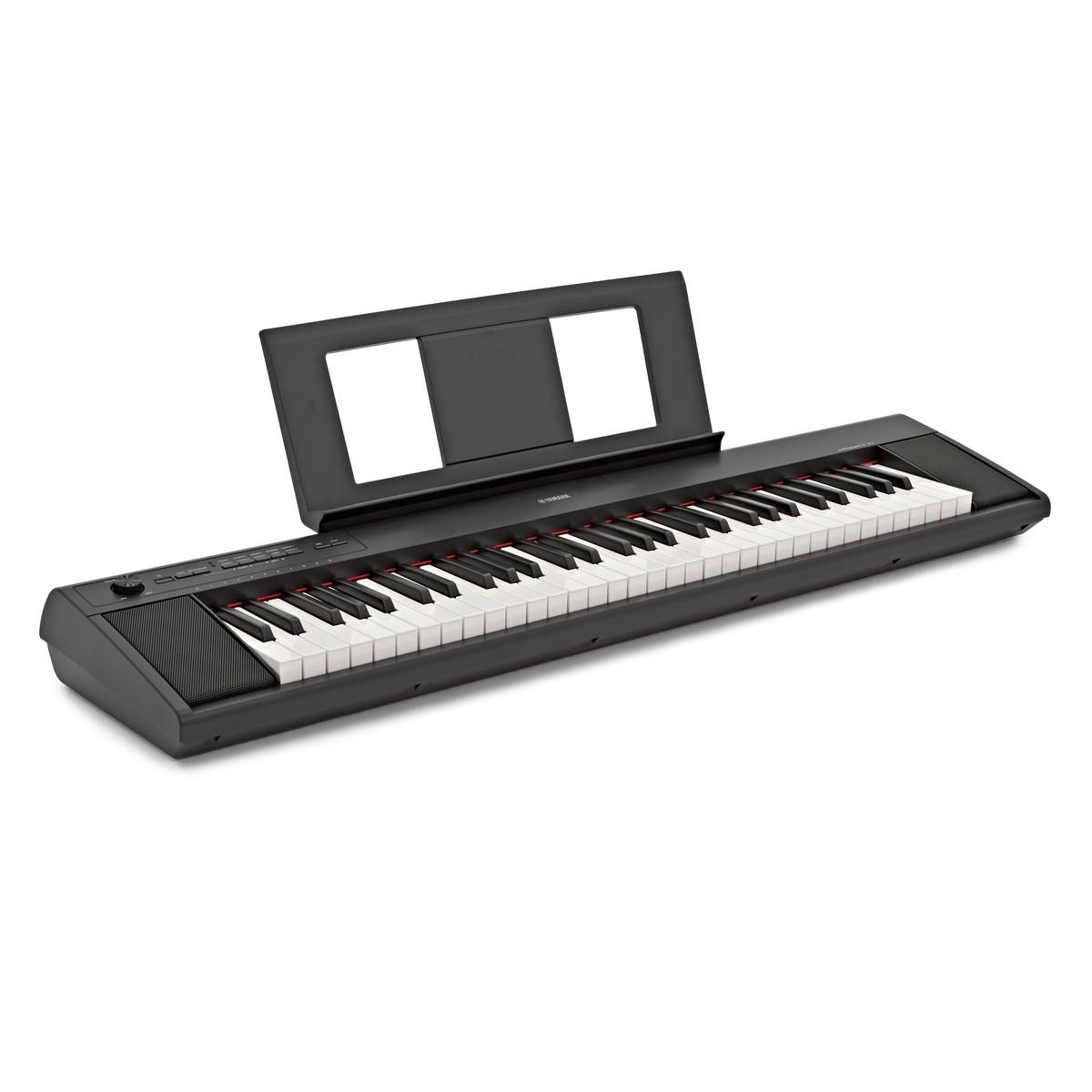 Yamaha Piaggero Np12 : yamaha piaggero np12 portable digital piano black at gear4music ~ Vivirlamusica.com Haus und Dekorationen