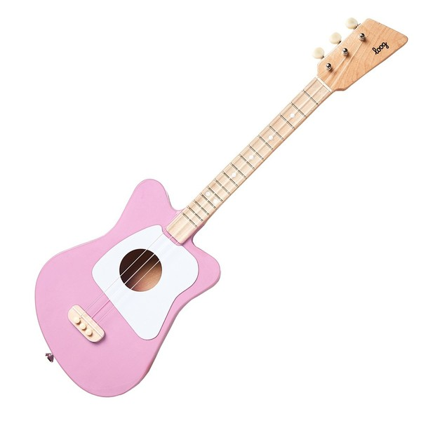 Loog Mini Pink - Front View