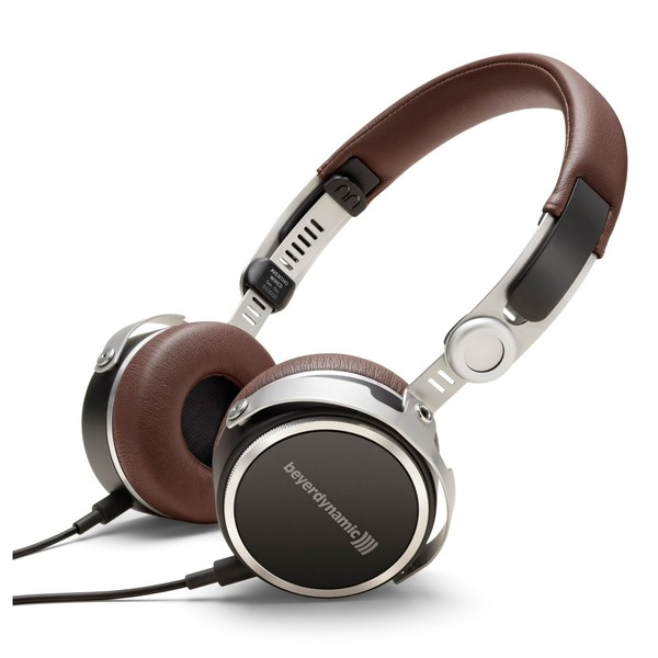 beyerdynamic Aventho Wired Tesla Headphones, Brown, Main