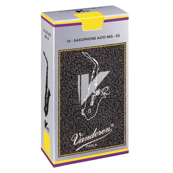 Vandoren V12 Alto Saxophone Reeds Strength 2.5 (10 Pack)