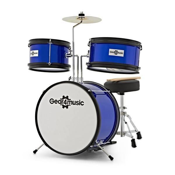 CDK Children's Drum Kit by Gear4music, Blue main