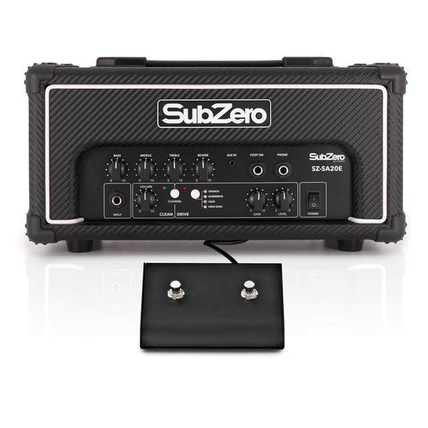 SubZero SA-20 Multi-Drive Amp Head, with Reverb