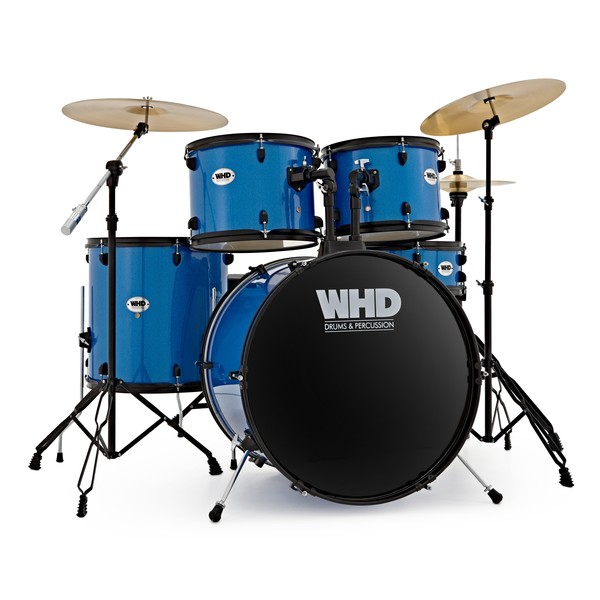 WHD Genesis Complete Drum Kit, Blue