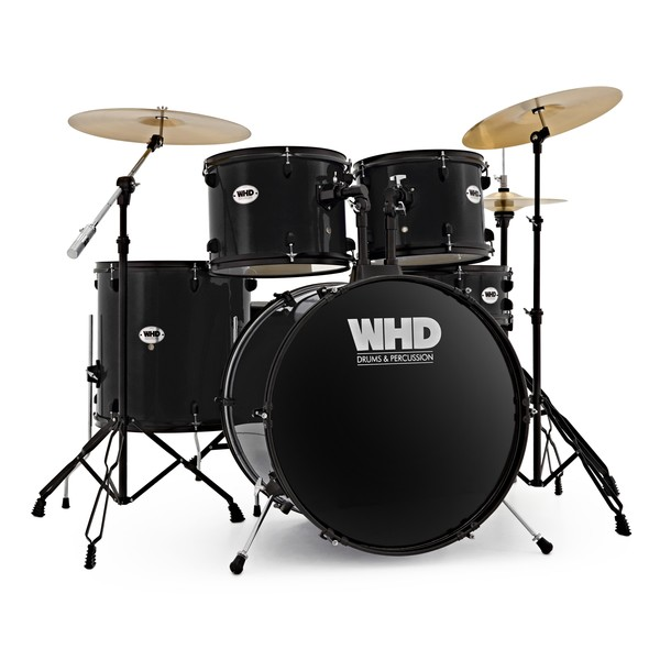 WHD Genesis Complete Drum Kit, Black