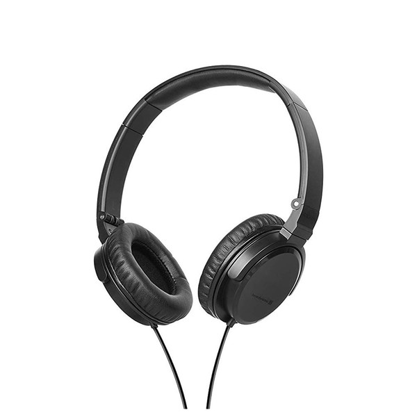 beyerdynamic DTX 350 M Closed-Back On-Ear Headset, Black, Angled