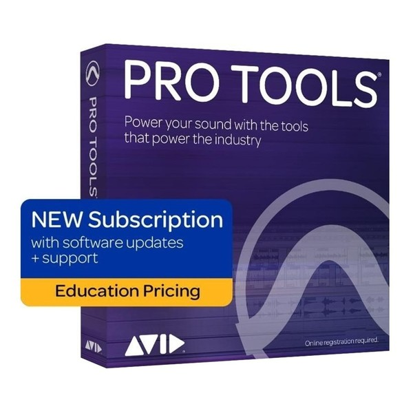 Pro Tools Subscription Renewal (Educational Institute) - Main