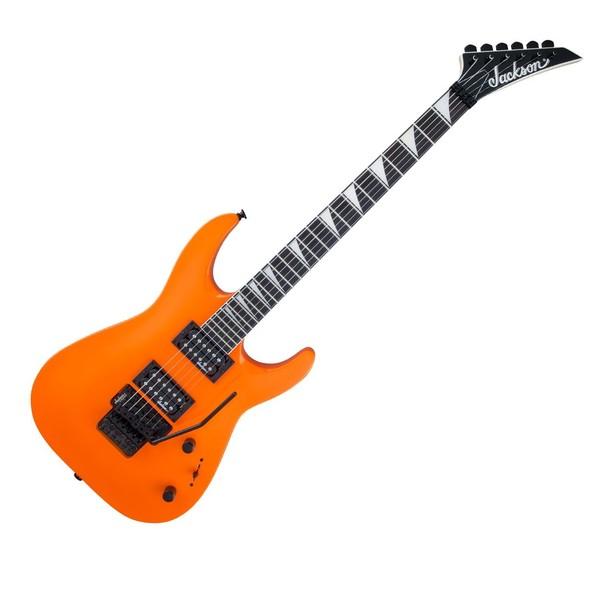 Jackson JS32 Dinky, Neon Orange - Front