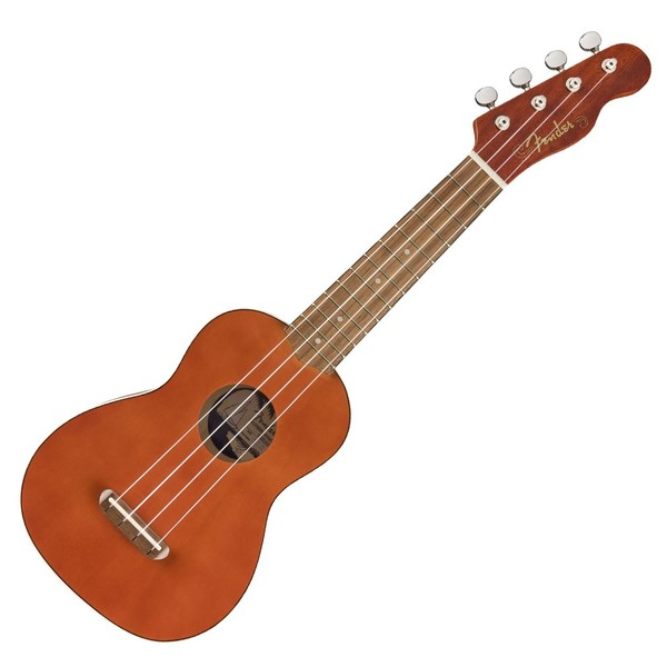 Fender Venice Soprano Ukulele WN, Natural - Front