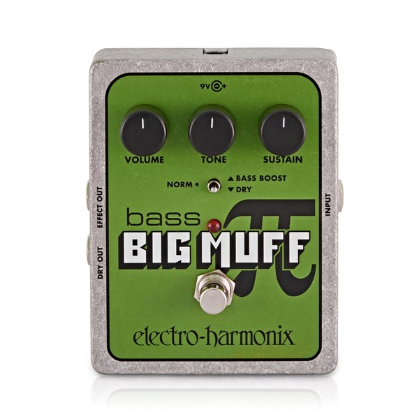 Electro Harmonix Bass Big Muff Pi Distortion & Sustainer