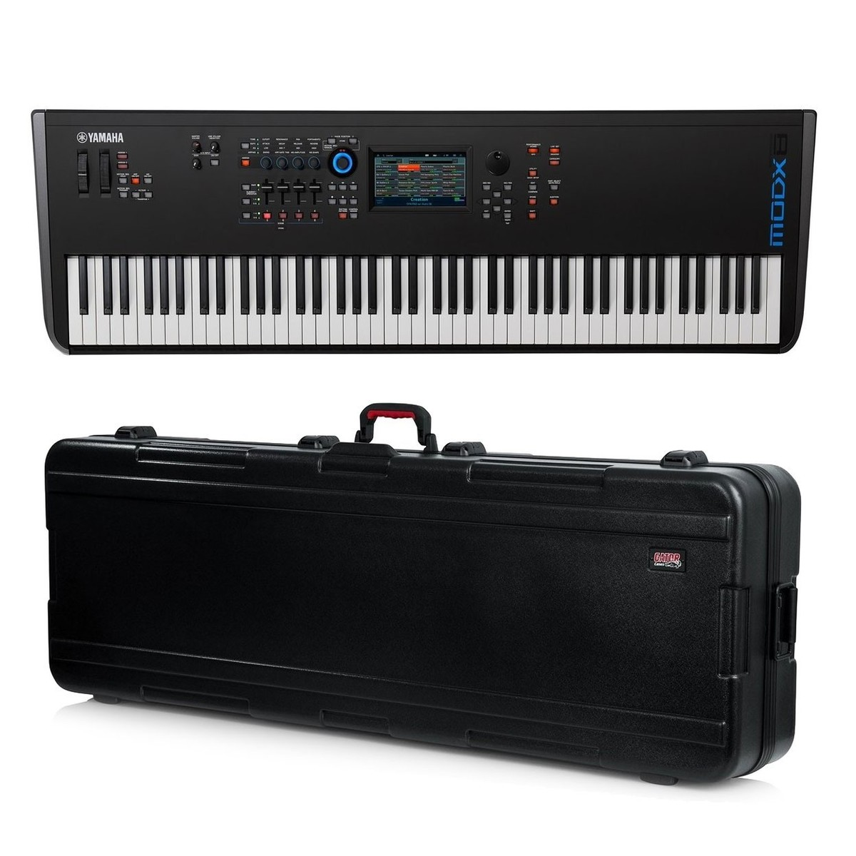 yamaha modx8 synthesizer keyboard with gator hard case at gear4music. Black Bedroom Furniture Sets. Home Design Ideas