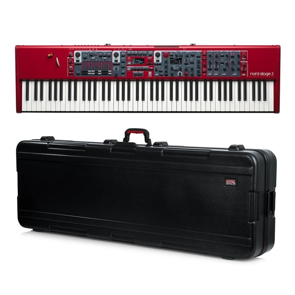 Nord Stage 3 88 Digital Piano with Gator Hard Case - Bundle