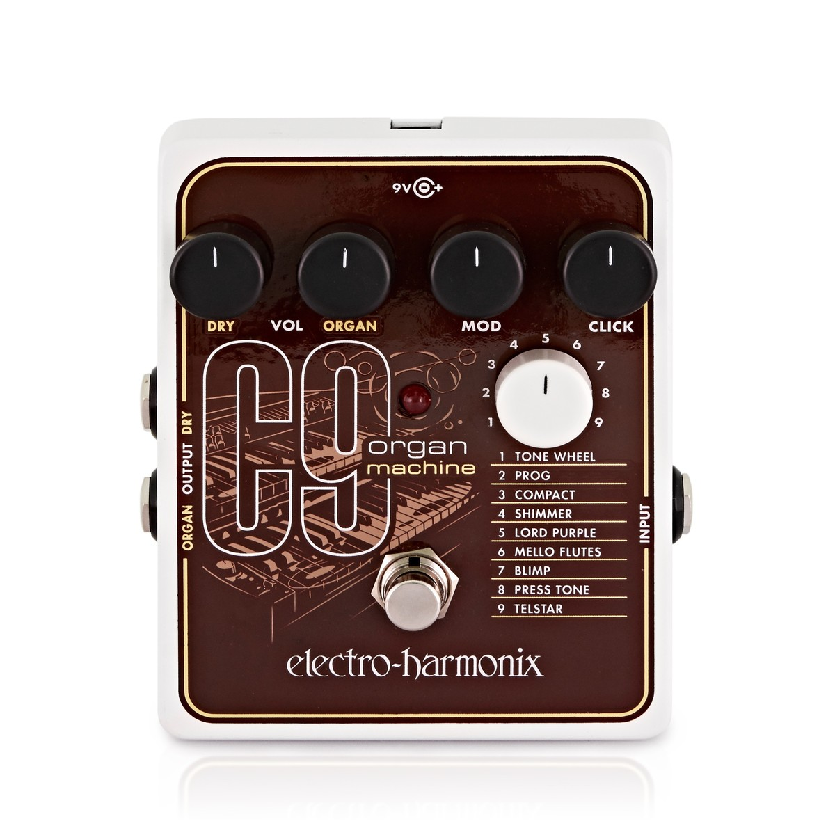 Click to view product details and reviews for Electro Harmonix C9 Organ Machine.
