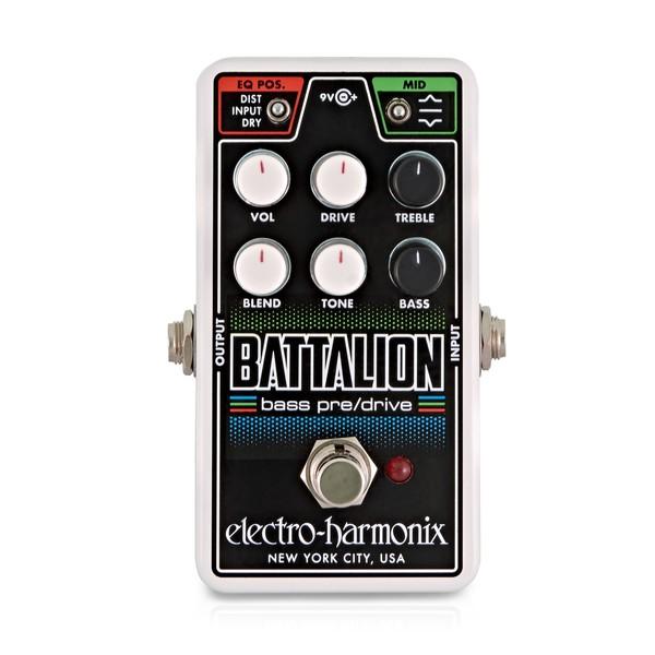 Electro Harmonix Nano Battalion Bass Preamp & Overdrive main