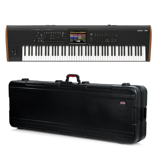 Korg Kronos 88 Music Workstation with Gator Hard Case - Bundle