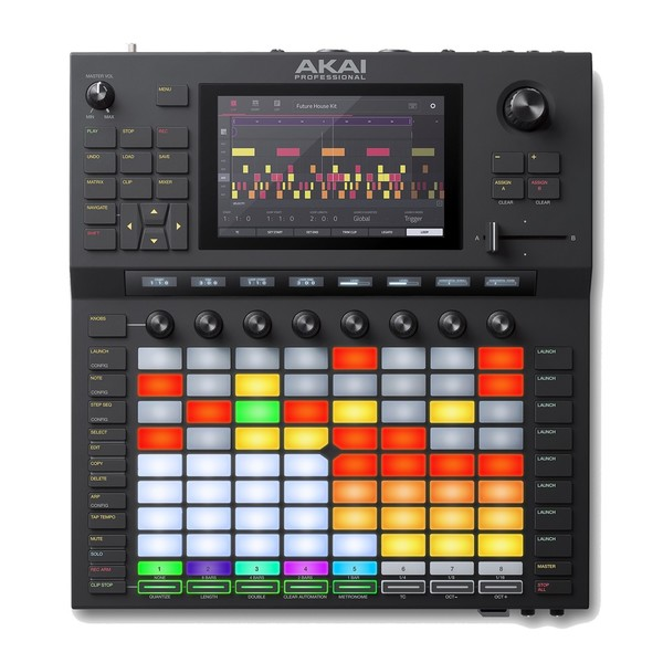 Akai Force Standalone Music Production DJ Performance System - Top Down